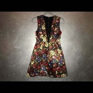 Alice and Olivia floral dress.